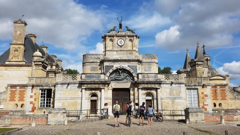 Cyclo en 2021 : le château d'Anet